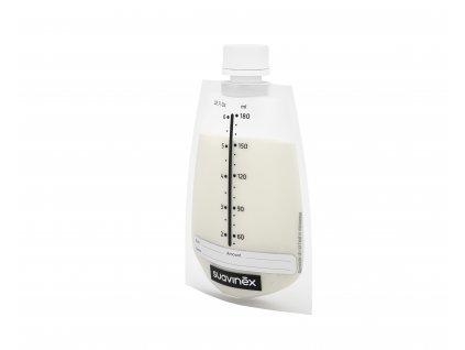 121526 suavinex sacky pro skladovani materskeho mleka zero 20 ks