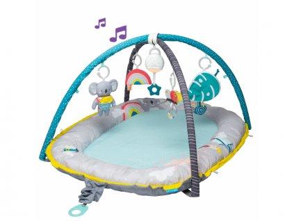 43850 taf toys hraci deka hnizdo s hudbou pro novorozence koala