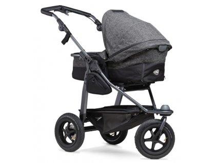 40097 tfk kombinovany kocarek mono combi pushchair air wheel prem anthracite