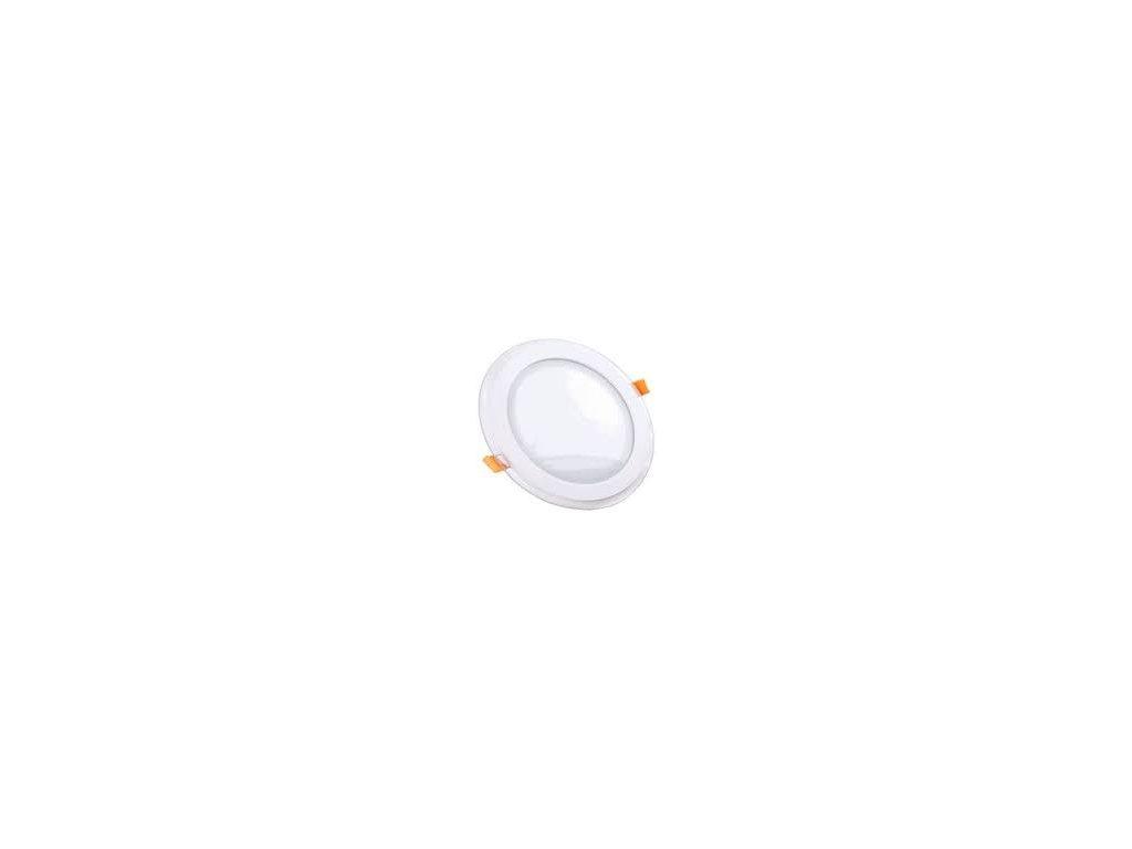 Podhledové svítidlo vsazené R 12W 6400K skleněný rám (VT-1202-4743)