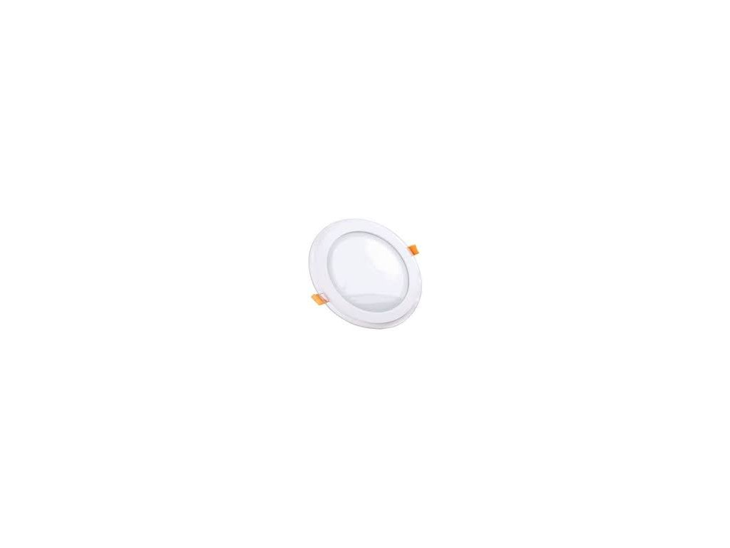 Podhledové svítidlo vsazené R 18W 3K skleněný rám (VT-1881-4760)