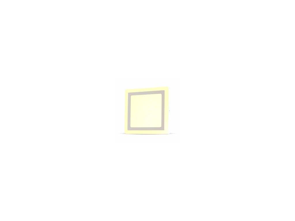 LED světlo přisazené Q 8W 6400K dvojité (VT-809-4924)