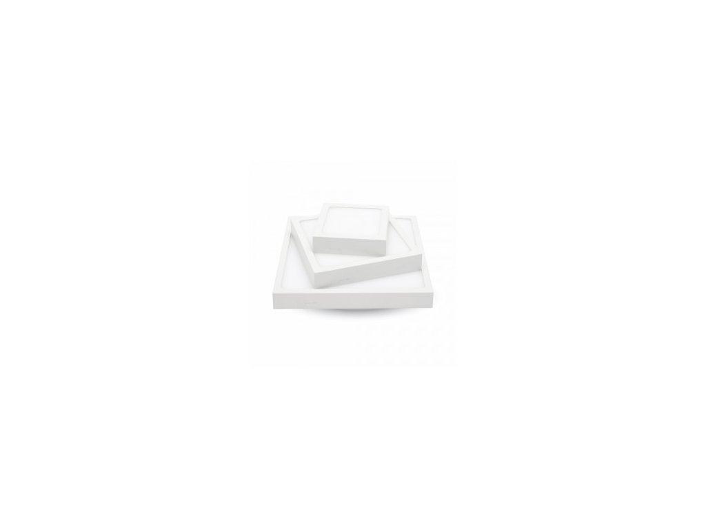LED přisazené Q svítidlo Slim Surface 18W 1440lm 3000K (VT-1805-4919)