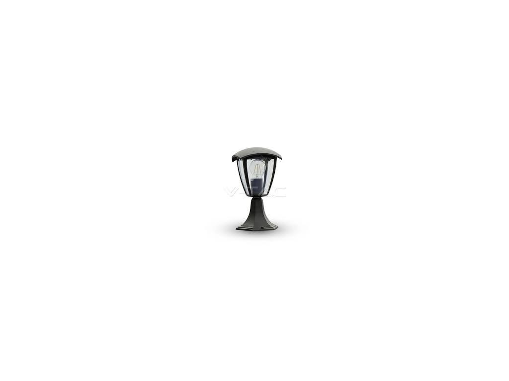 LED zahradní lampa stojací černá 290mm (VT-754-7057)
