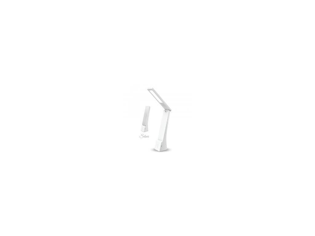 LED lampička stříbrná (VT-1014-7098)