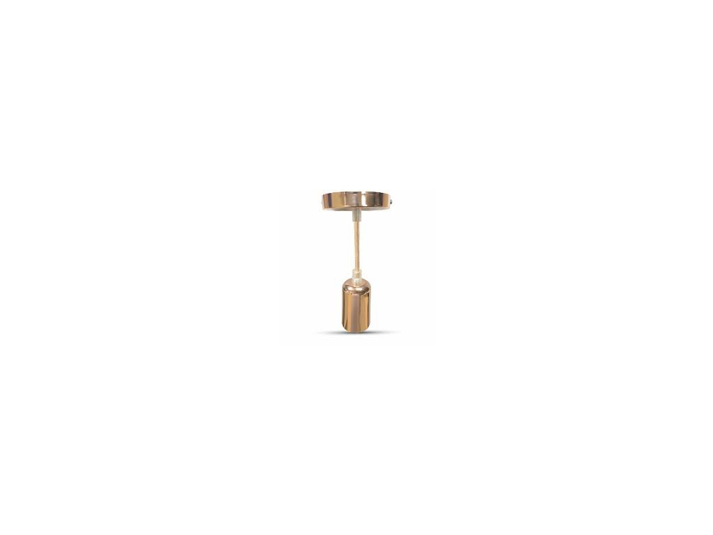 Závěsná objímka E27 rosegold (VT-7448-3777)