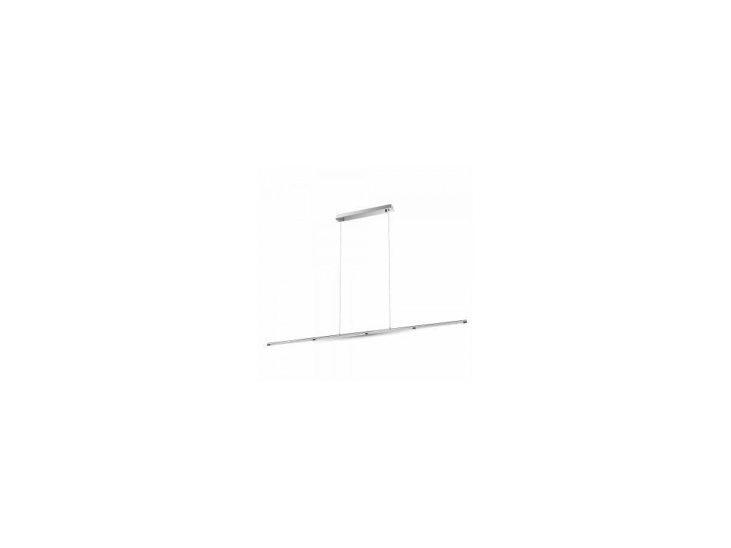 LED svítidlo závěsné chrome 4K 36W (VT-7036-3892)