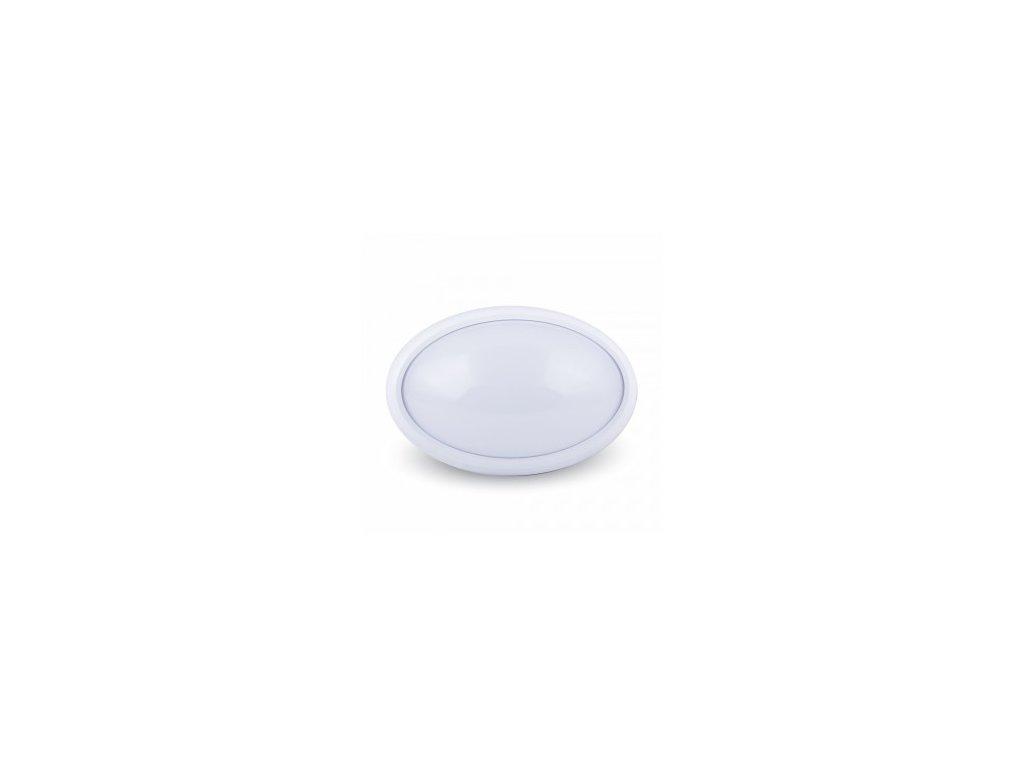 LED stropní svítidlo ovál 8W 3K (VT-8014-1264)