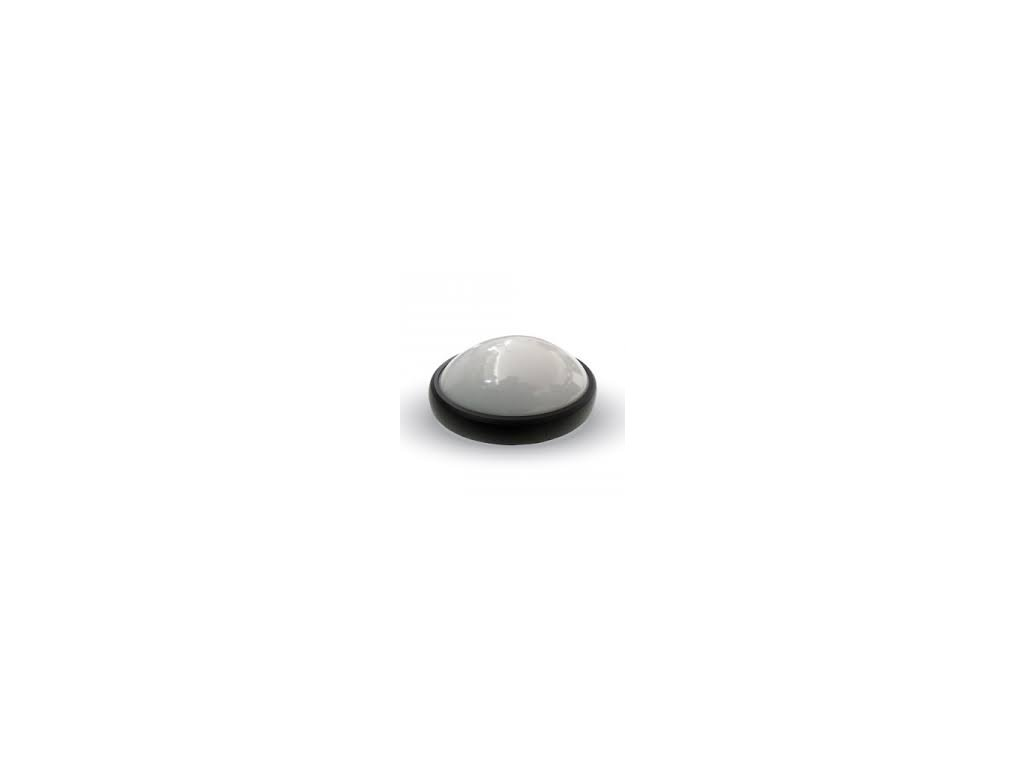 LED stropní svítidlo kulaté 8W 3K černá (VT-8014-1261)