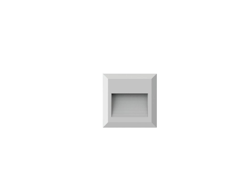 LED orientační svítidlo Q 2W 3K bílé (VT-1152-1321)