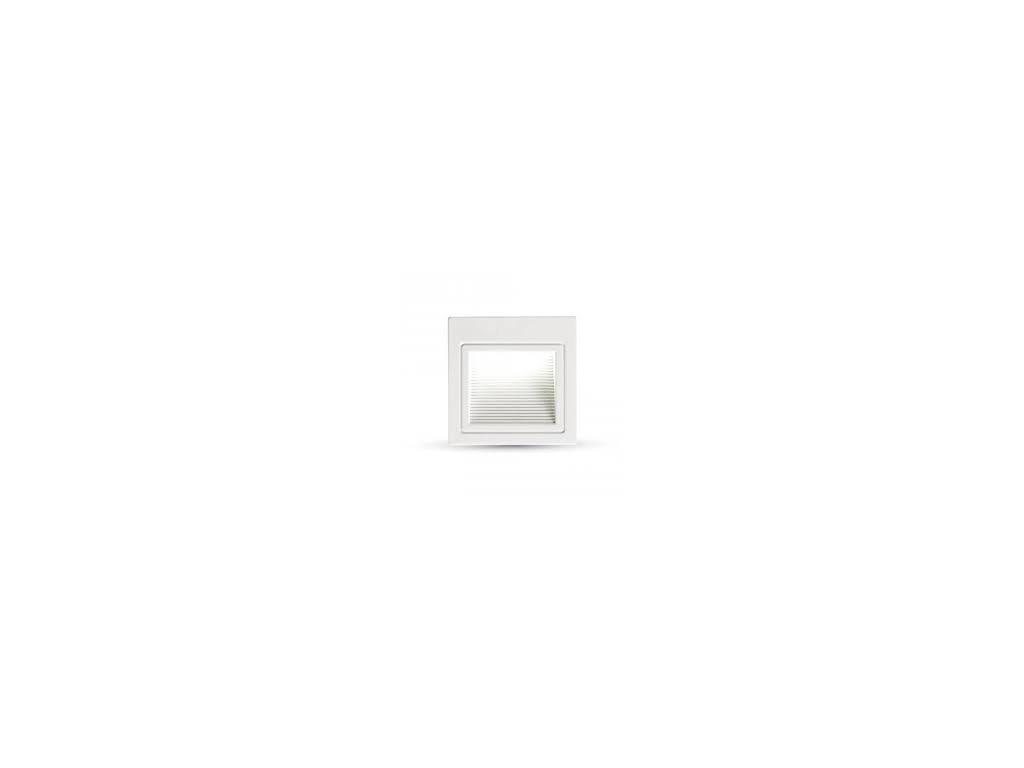 LED orientační svítidlo Q 3W 4K bílé (VT-1162-1284)