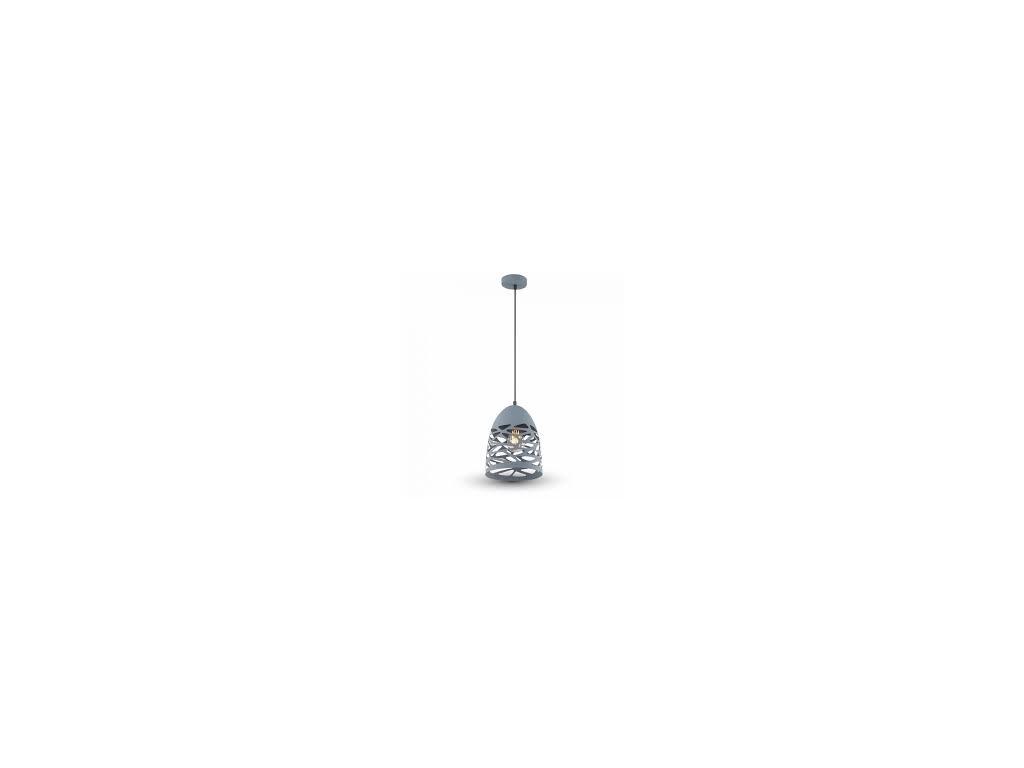 Lustr matná šedá (VT-7200-3822)