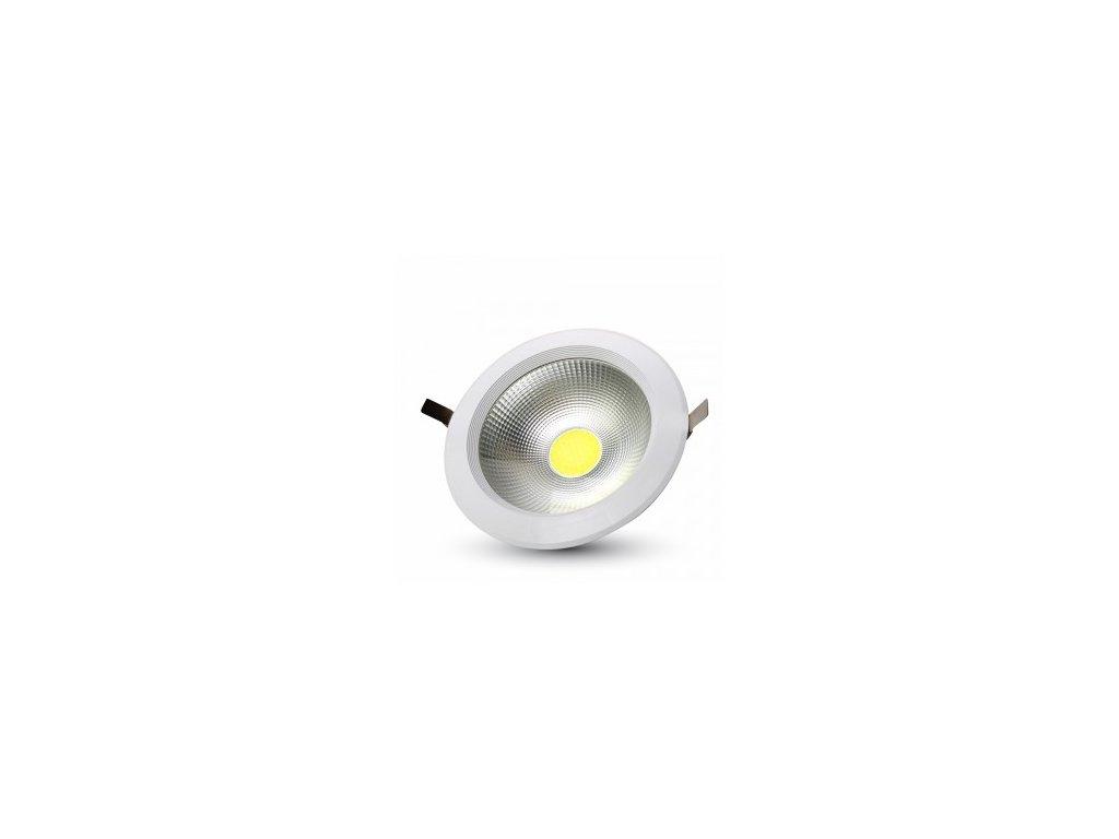 LED vsazené svítidlo R COB 30W 4500K 3600lm (VT-26301-1277)