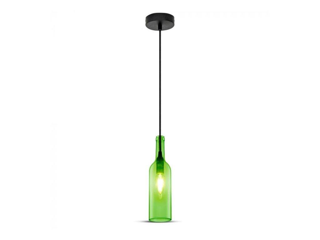 Lustr tvar lahve zelená (VT-7558-3767)