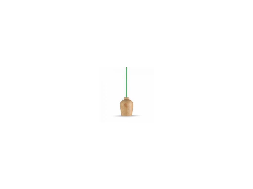 Lustr dřevěný zelený (VT-7778-3725)