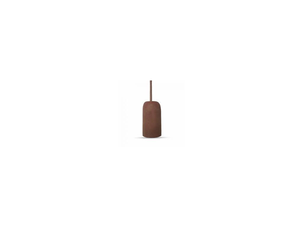 Cementové držadlo k lustrům E27 červené (VT-7668-3743)
