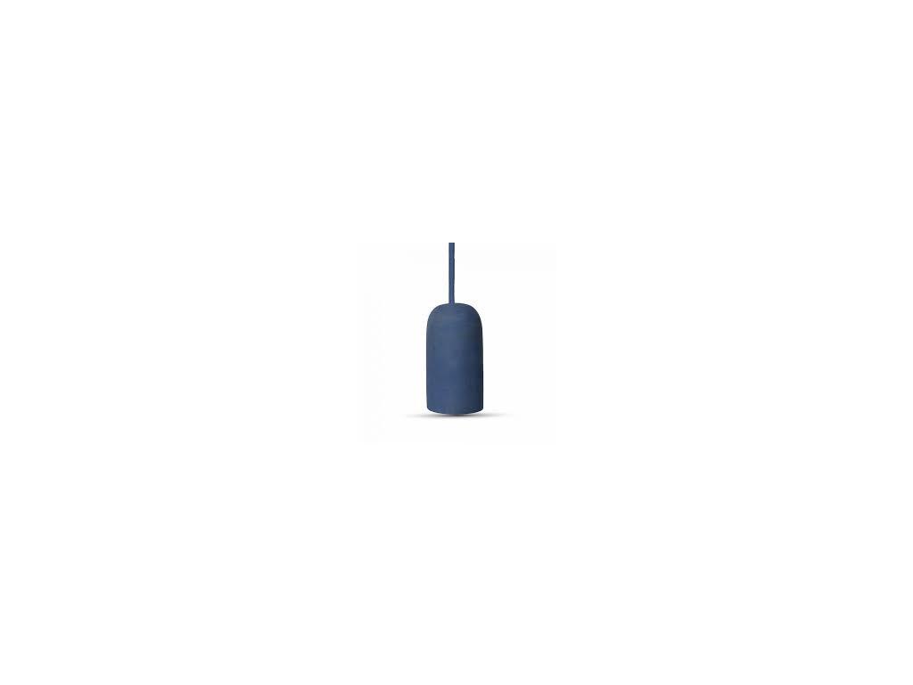 Cementové držadlo k lustrům E27 modré (VT-7668-3744)