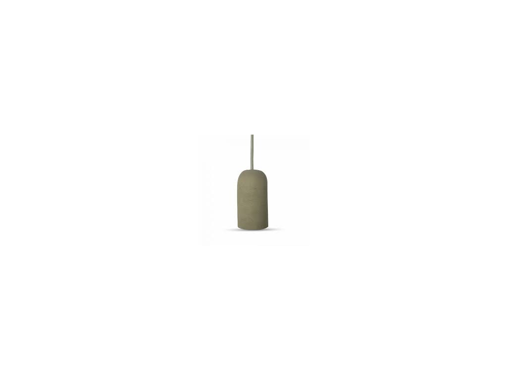 Cementové držadlo k lustrům E27 šedé (VT-7668-3748)
