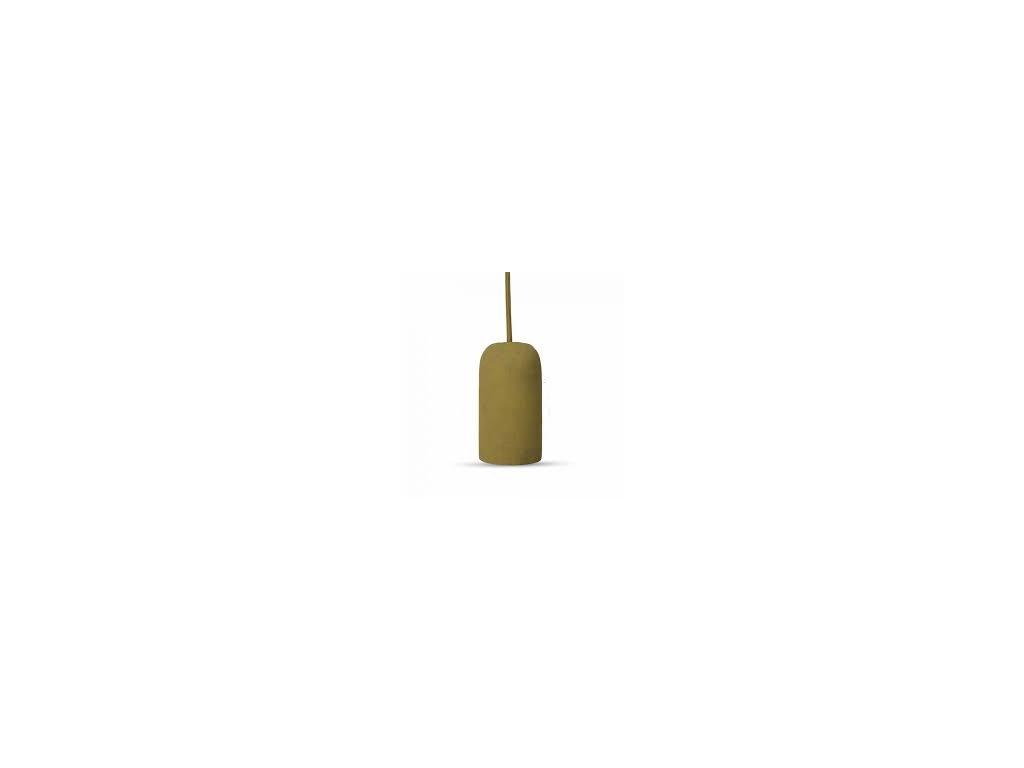Cementové držadlo k lustrům E27 běžové (VT-7668-3750)