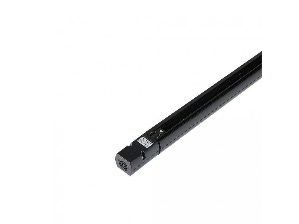 4-polová lišta 1,5m černá  EU standard (VT-XXXX-9952)