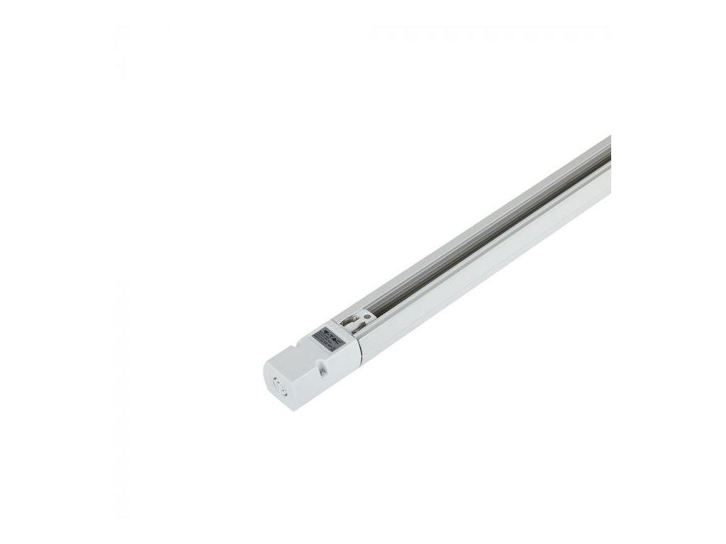 4-polová lišta 1m bílá EU standard (VT-XXXX-9945)