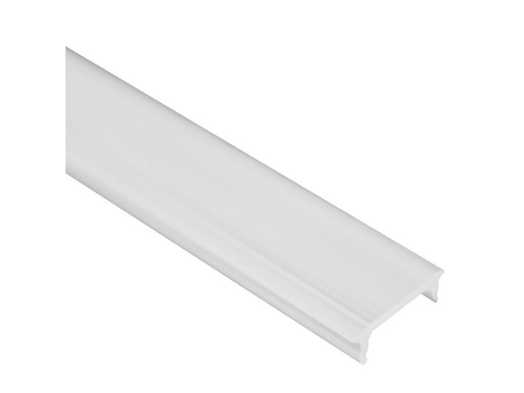 Lišta krycí klip opal 2m PVC-N14-O (55/LED/PVC/N14/O)