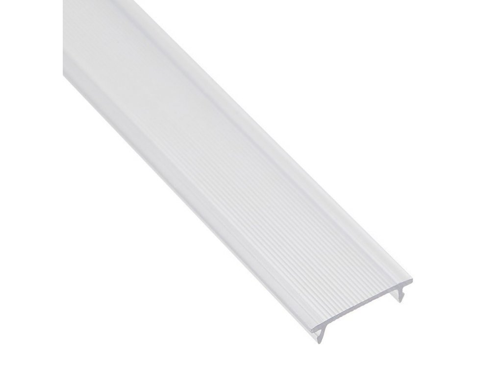 Lišta krycí klip čirá 2m PC-N16-C (55/LED/PC-N16-C)