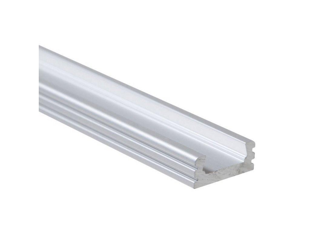 """Profil """"XC02"""" 2m stříbrný (55/LED/XC02)"""