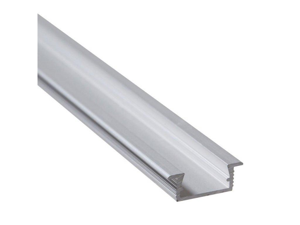 """Profil """"XC03"""" 2m stříbrný (55/LED/XC03)"""