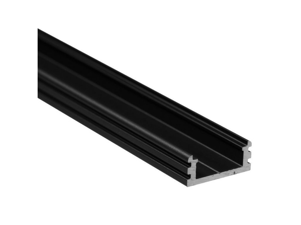 "Profil ""XC14"" 2m černý (55/LED/XC14/CC)"