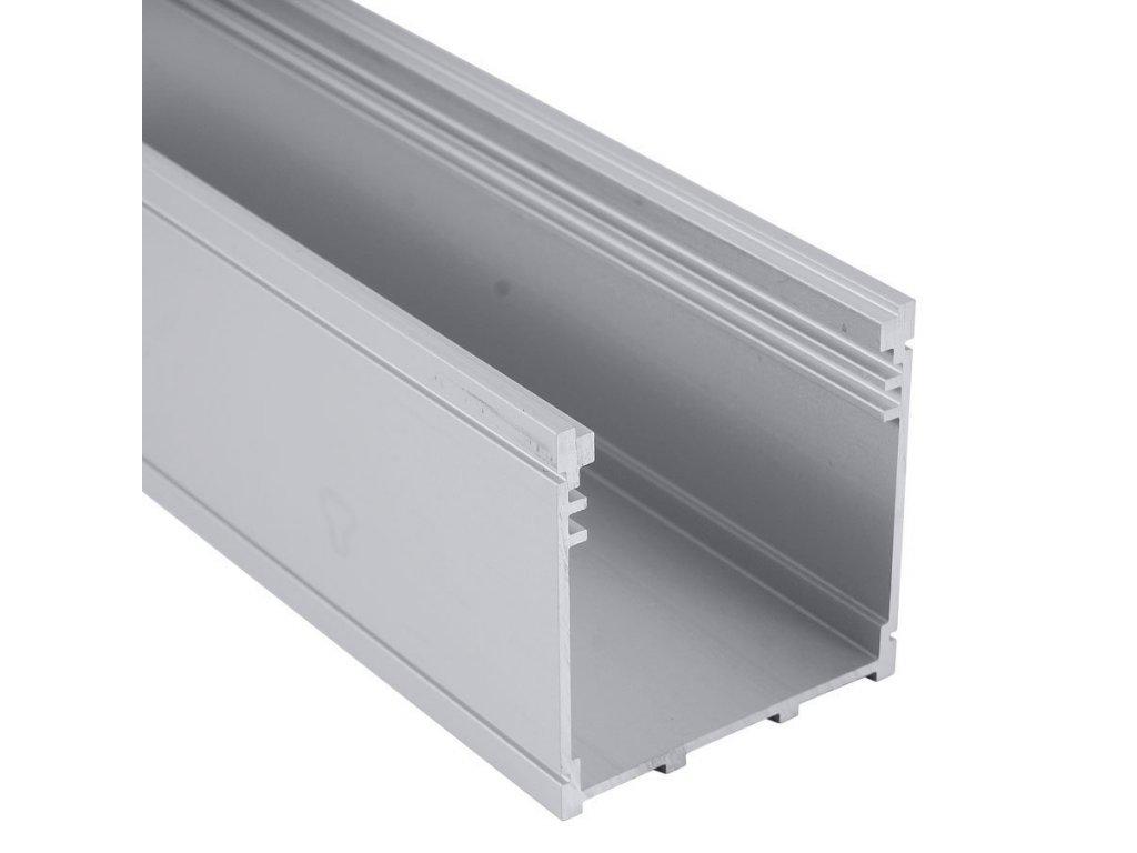 """Profil """"XC21"""" 2m stříbrný (55/LED/XC21)"""