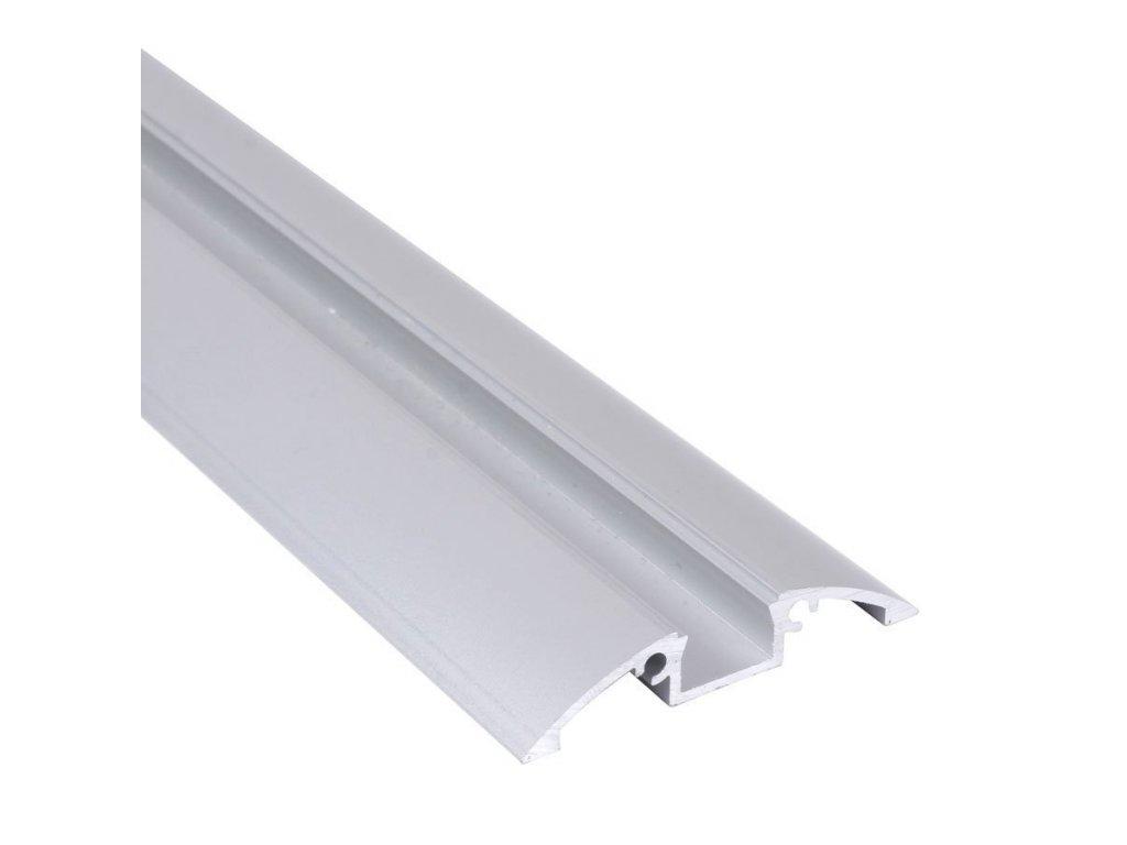 """Profil """"XC28"""" 2m stříbrný (55/LED/XC28)"""