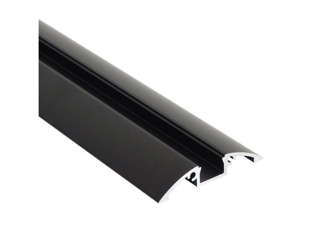 "Profil ""XC28"" 2m černý (55/LED/XC28/CC)"