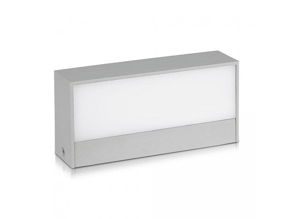 LED nástěnné obd. svítidlo 9W 6400K IP65 (VT-8056-8241)