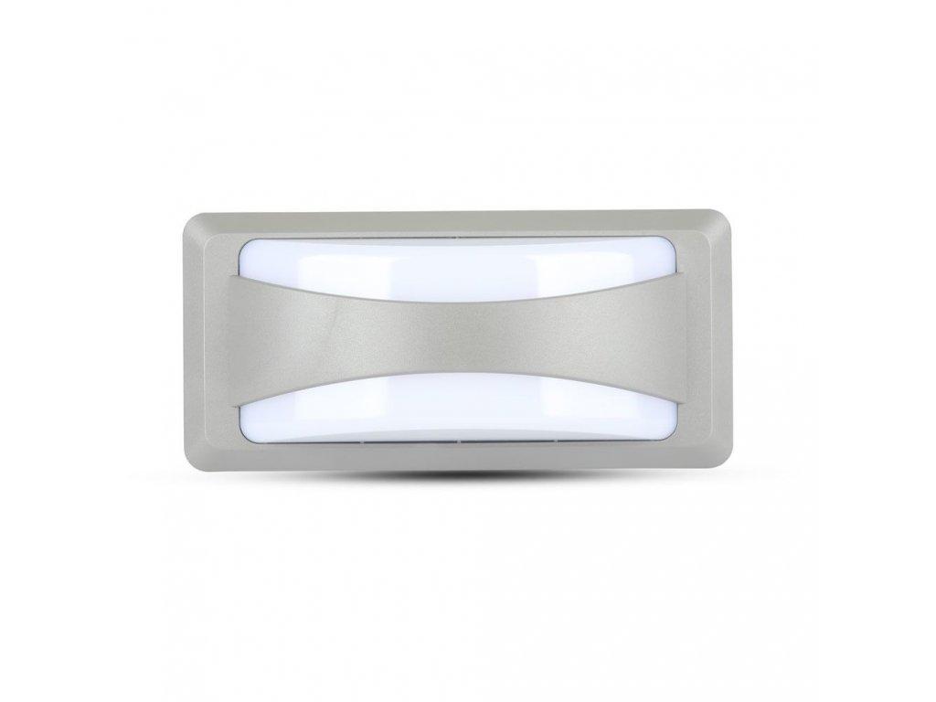 LED nástěnné svislé obd. svítidlo 12W 4000K IP65 (VT-8058-8246)