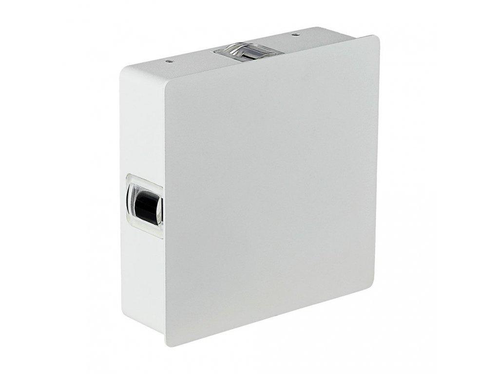 LED nástěnné svítidlo 4W 3000K IP65 bílé 4 směry (VT-704-8209)