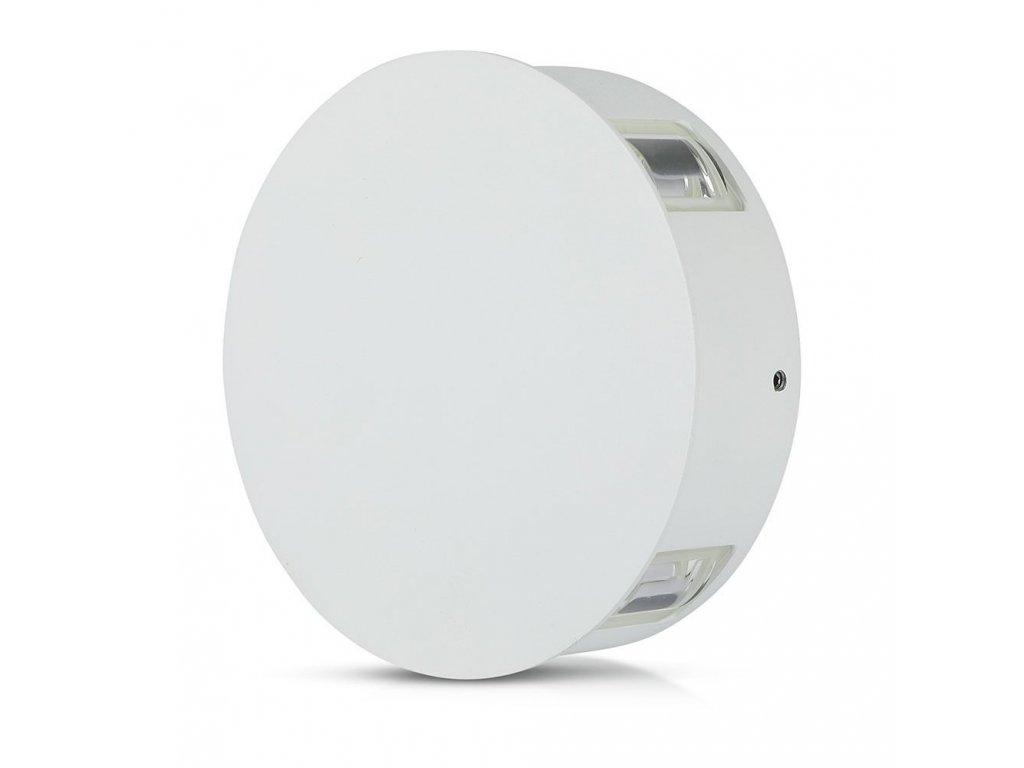 LED nástěnné R svítidlo 4W 4000K IP65 4 směry (VT-706-8214)