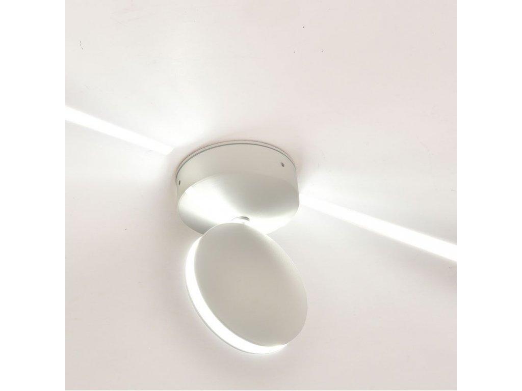 LED nástěnné prostorové svítidlo 7W 3000K IP65 (VT-707-8217)