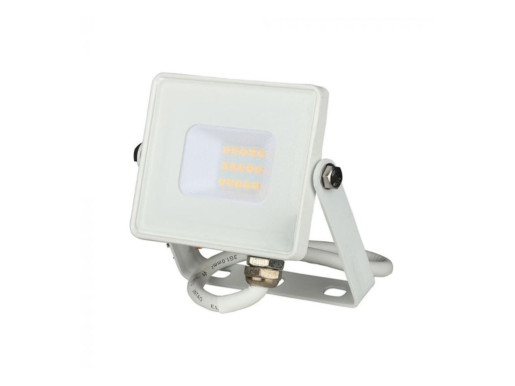 LED reflektor Slimline SAMSUNG 10W IP65 4000K (VT-10-W-428)