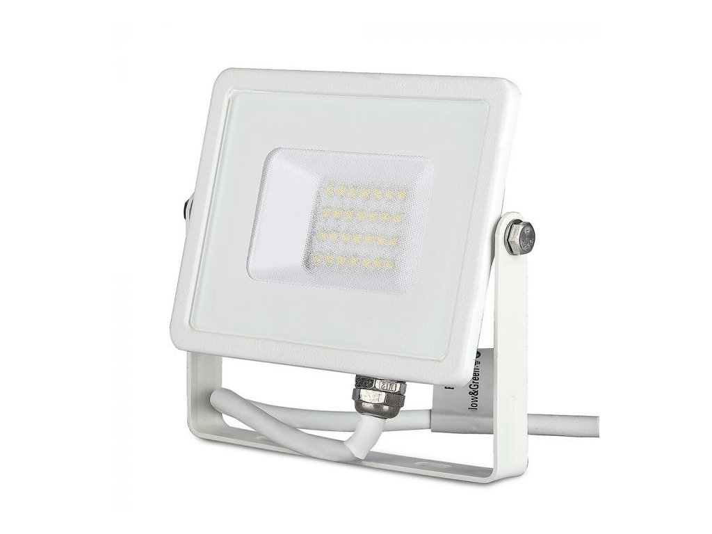 LED reflektor Slimline SAMSUNG 20W IP65 6400K (VT-20-W-444)