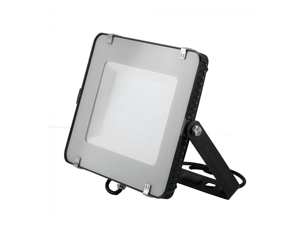 LED reflektor Slimline SAMSUNG 150W IP65 3000K černý (VT-150-B-475)