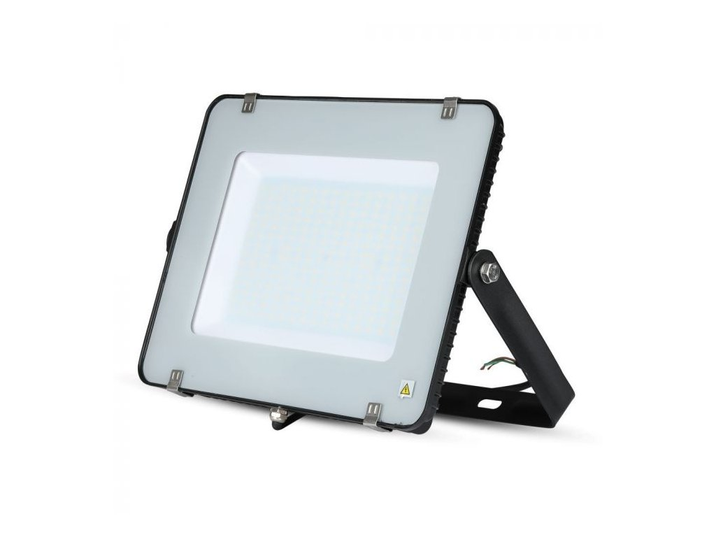 LED reflektor Slimline SAMSUNG 200W IP65 6400K černý (VT-200-B-419)