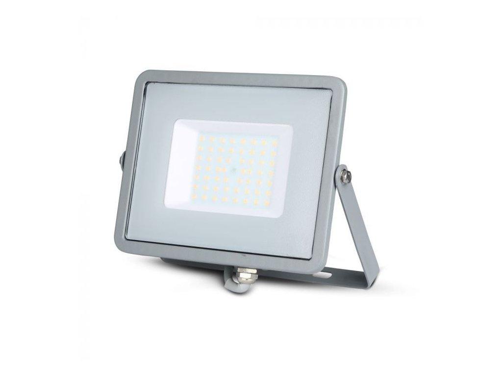 LED reflektor Slimline SAMSUNG 50W IP65 4000K šedý (VT-50-G-464)