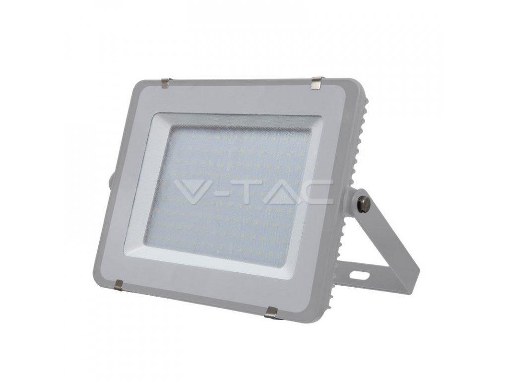 LED reflektor Slimline SAMSUNG 150W IP65 4000K šedý (VT-150-G-482)