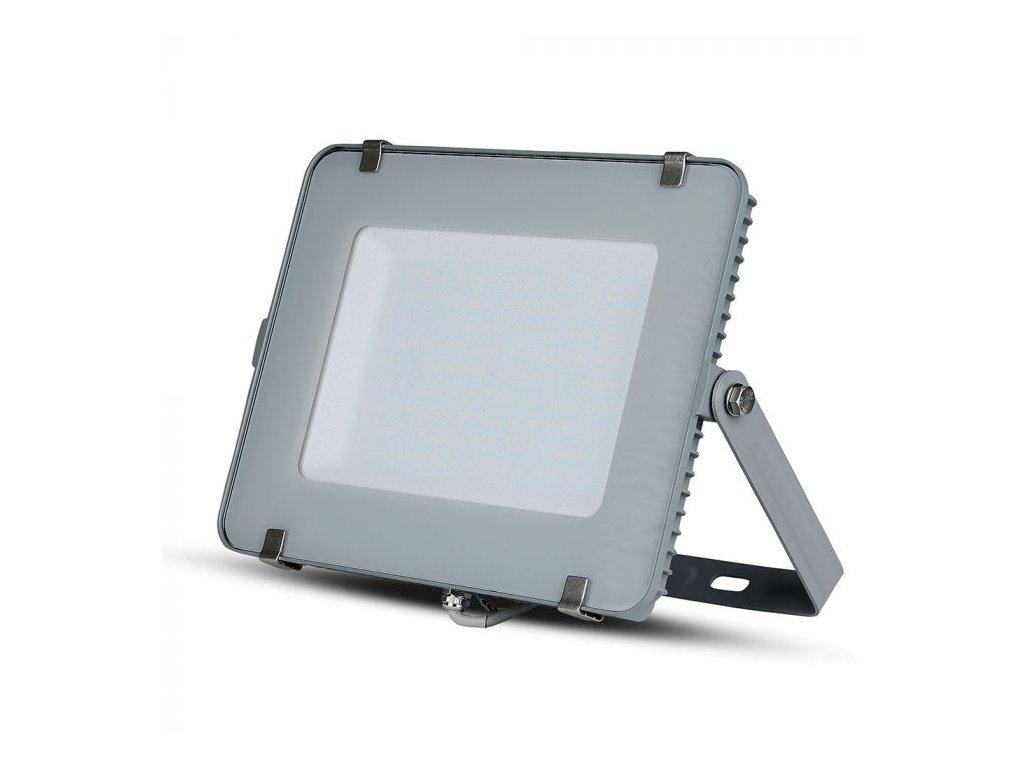 LED reflektor Slimline SAMSUNG 150W IP65 3000K šedý (VT-150-G-481)