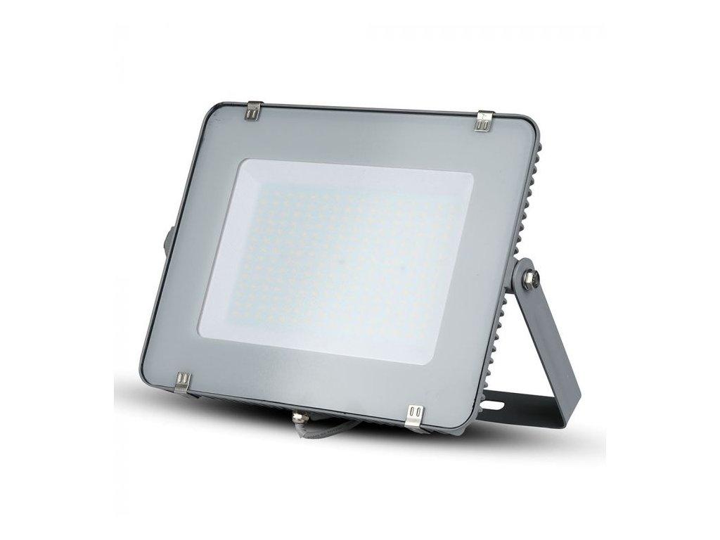LED reflektor Slimline SAMSUNG 200W IP65 4000K šedý (VT-200-G-484)