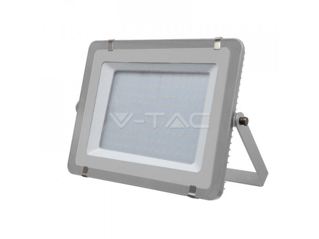 LED reflektor Slimline SAMSUNG 300W IP65 4000K šedý (VT-300-G-488)