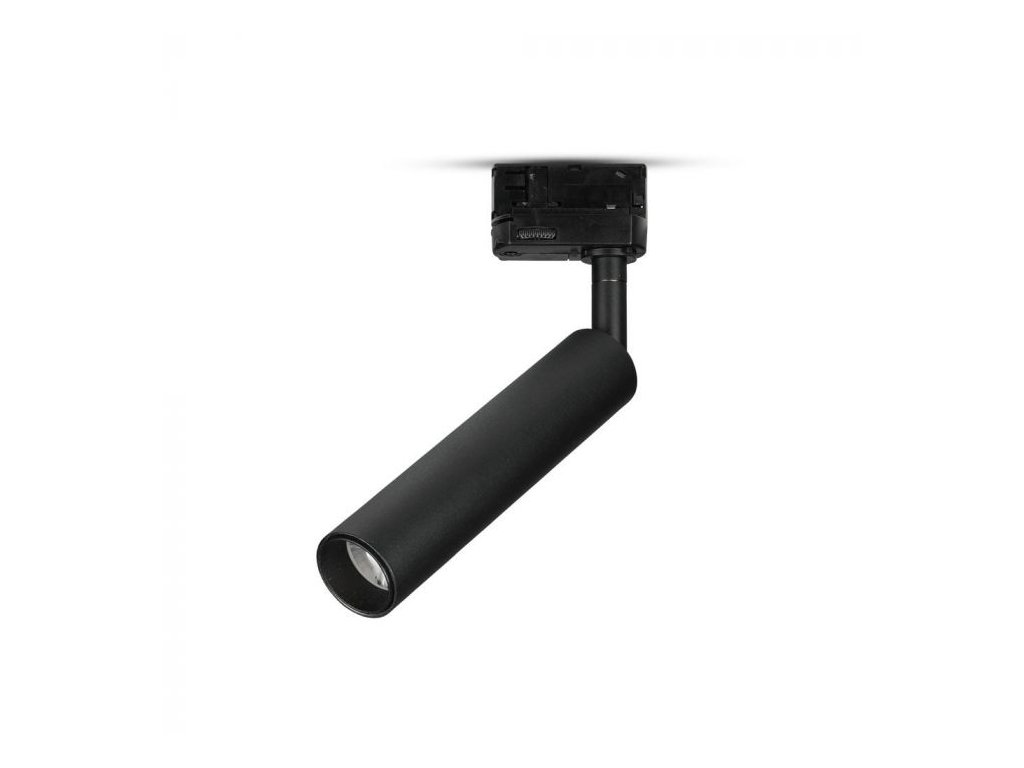 LED 4-fázový projektor pro lištový systém SAMSUNG 15W 3000K černý (VT-415-B-359)