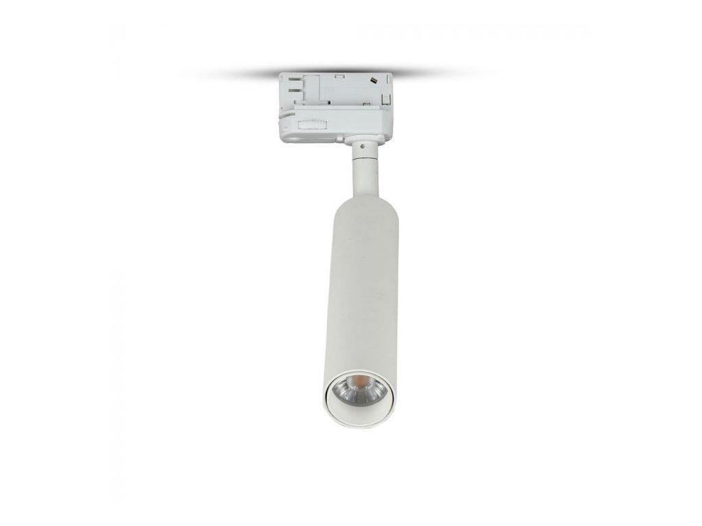 LED 4-fázový projektor pro lištový systém SAMSUNG 7W 3000K bílý (VT-407-W-350)