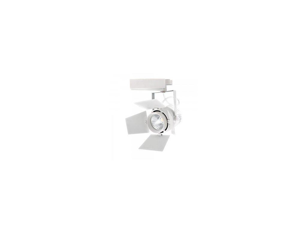 36998 led 4 fazovy projektor pro listovy system samsung 33w 5000k bily vt 433 w 370